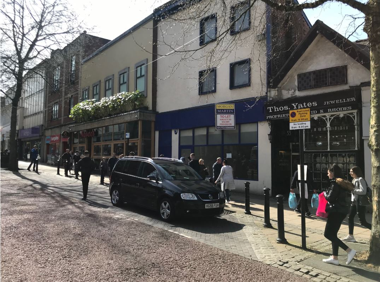 Preston – 32 Market Place – PR1 2AR